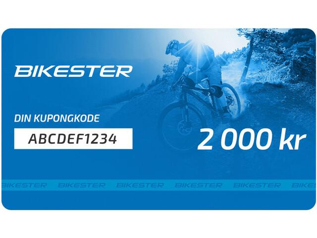 Bikester Gift Voucher 2000 kr
